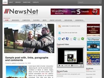 Top 10 Best Free News Blogger Templates Horizzon Infotech