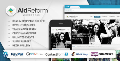 Aid Reform Charity Theme