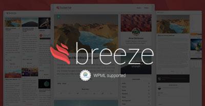 Breeze Modern Blog Theme