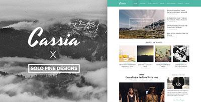 Cassia Blog WP Theme