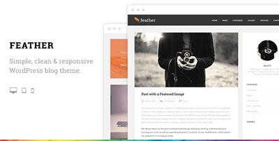 Feather WordPress Blog Theme