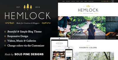 Hemlock Blog Theme