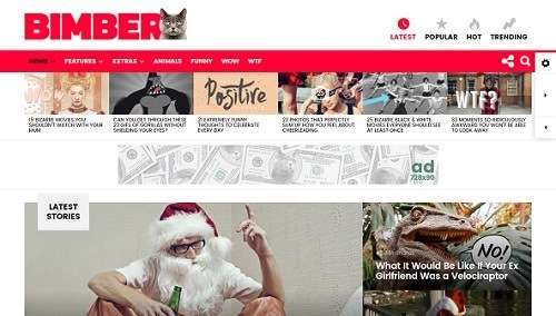 bimber wordpress viral theme